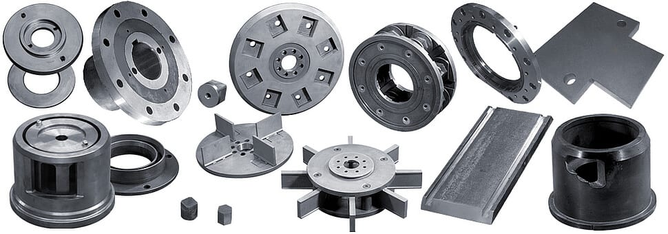 Straalturbine onderdelen